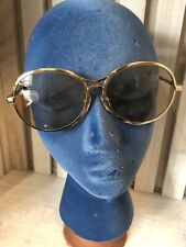 Vintage 70's Rodenstock Bernina Luxury Sunglasses made in Germany Gold Frame