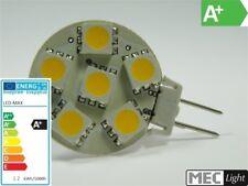 G6,35/GY6,35 LED Stiftsockel - 6x 3-Chip - 96Lm 10-30V (Scheibe) 1,2W warm-weiß