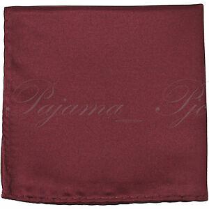 "New SOLID Men's Handkerchief Pocket Square Hanky Wedding Party Prom 10"" X 10"""