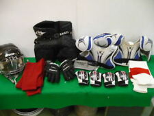 LOT > YOUTH HOCKEY EQUIPMENT  GLOVES , HELMET , SHORTS , PADDING ETC.