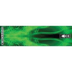 "Bohning Arrow Wrap Green X-Ray 7"" Standard 12 Pack"