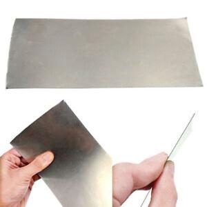 Nickel Blech Nickelblech Folie Nickelplatte 0.3x 100 x 200mm Hochreine Dünnblech