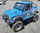 IMEX Radio Controlled 1/24th Canfield Land Rover Crawler, Blue, RTR