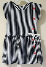 BNWT Bella Bliss Navy Stripe Lillibet Dress Girl's Size 6