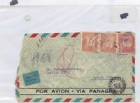 bolivia to buenos aires 1930 stamp cover Ref 9169