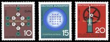 EBS Germany 1964 Progress in Technology and Science (I) Michel 440-442 MNH**