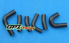 silicone radiator hose for Honda Magna VF750C V45 1982-1986 1985 1984,BLK