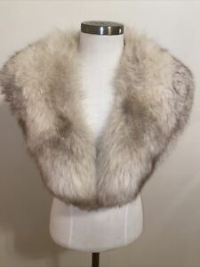 Genuine Fur Stole Wrap Scarf
