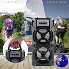 Portable Wireless Bluetooth Speaker Stereo Super Bass USB/TF/FM Radio Outdoor WE