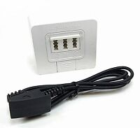 Original DSL Splitter T-Home für VDSL und ADSL inkl. TAE Telefonkabel