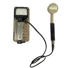 Ludlum 3 Survey Meter & 44-9 Probe Geiger Counter Radiation Detector
