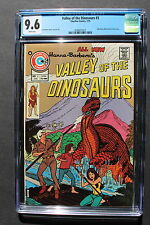 VALLEY OF THE DINOSAURS #3 JOHN BYRNE Charlton 1975 Hanna-Barbera TV CGC NM+ 9.6