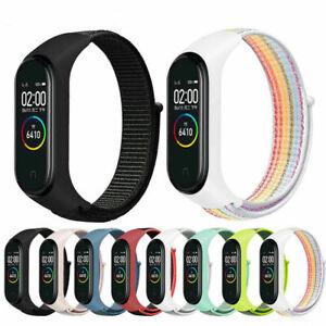 Nylon Sport Ersatz Uhrenarmband Armband Wrist Strap Für Xiaomi Mi Band 3/4/5/6