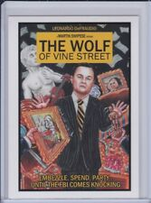 2017 Garbage Pail Kids Network Spews Wacky Packages #88 The Wolf of Vine Street