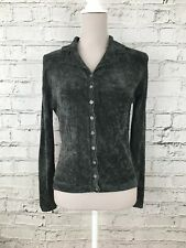 NEXT - Green Long Sleeve Button Front Vintage Look Cardigan - Womens - Size 12