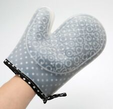 Silicone Oven Mitts Heat Resistant BBQ Baking Pot Gloves Cooking Gloves Kitchen