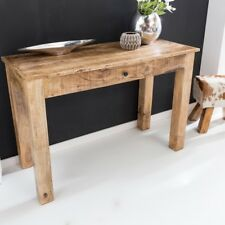 FineBuy Console table RUSTI 120 cm Drawer Desk console Sideboard