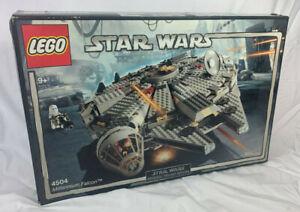 Lego Star Wars Millennium Falcon 2004 (4504) Neuf Scellé Ancien