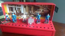 **COFFRET 5 Figurines Station Service Garage 1/43 Atlas **