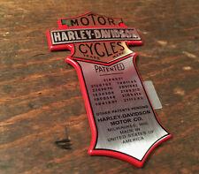 Harley brevet emblème logo Parrain caractères Head