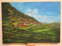 Giuseppe Abbruzzese Painter landscape Calabrese Calabria Painting oil VS3