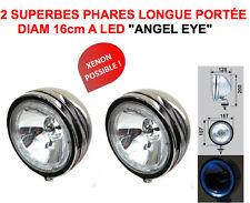 2 SUPER PHARES A LED! 4X4 RALLYE HDJ KDJ JEEP PATROL TYPE LIGHTFORCE HELLA