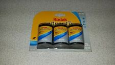 Kodak Advantix 3 Pack Aps Color Print Film 200 Expired 12/2007 Sealed 25 Exp