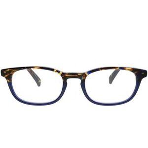 NWT Eyebobs 2227 Unisex Rectangle Reading Glasses Blue Tortoise +3.00