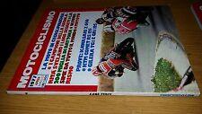 MOTOCICLISMO anno 1977 #  4-KAWASAKI X 650-KTM COMET RS 125-GILERA TG1 E GR1 125