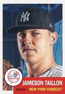 TOPPS BASEBALL MLB LIVING SET CARD NEW YORK YANKEES JAMESON TAILLON #452
