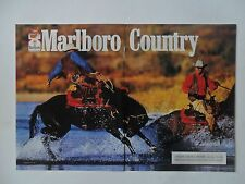 1997 Print Ad Marlboro Man Cigarettes ~ Western Cowboys Fringe Vest Water Splash