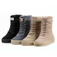 NOCK UGG Classic Lace Up Sneaker Boots Water Resist Premium Australian Sheepskin
