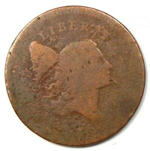 1795? Liberty Cap Half Cent 1C Coin - Heavy Wear - Rare Early Coin!
