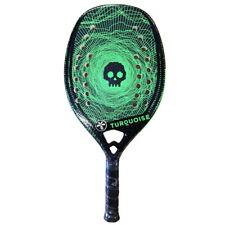 Racchetta Beach Tennis Racket Turquoise Black Death Challenge Green 2020