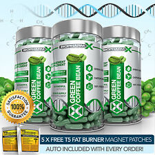 X3 GREEN COFFEE BEAN EXTRACT - 100% LEGAL SLIMMING / DIET & WEIGHT LOSS PILLS
