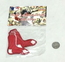 Official MLB Boston Red Sox Team Logo Hanging Socks Jersey Patch FREESHIP