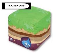 taito Dragon Quest Builders 2 AM large stuffed plush Block of grassland japan