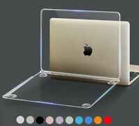 Crystal Laptop Case For Macbook Pro 13.3 15.4 Retina 12 13 15 Hard Shell Cover