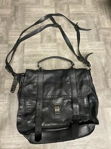 $2,150 Proenza Schouler PS1 Black Large Bag