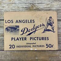 Los Angeles Dodgers Vintage Autographed Player Pictures (19) 1960s MLB Baseball