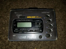 Sony Walkman (Wm-Fx42) Am/Fm Radio Alarm Clock *Cassette Player. working