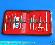 Med Student Anatomy Dissection Kit - 21 Pieces Medical Surgical Instruments