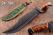 "19.4"" KMA 52100 BEARING STEEL BLACK COATED BEAST BIG CLASSIC BOWIE KNIFE 7881"