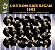LONDON AMERICAN 1962 4CD NEW! CHARLIE RICH/SAMMY TURNER/THE DRIFTERS/LEE CURTIS/