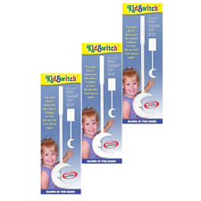 New - KidSwitch Light Switch Extender (3-Pack) - Free Shipping