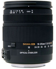 Sigma 18-125mm f3.8-5.6 DC OS HSM Lens For Nikon