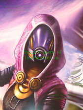 "Mass Effect Tali'Zorah Nar Rayya Lithograph SDCC 2012 18"" x 24"" NEW no Pin Holes"