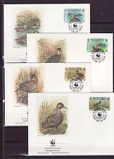South Georgia 1992 - FDC - Vogels/Birds/Vögel  WWF