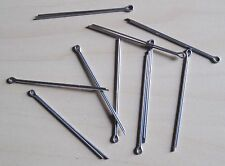 """Split Cotter Pins - Stainless  1.6x25 (1/16""""x1"""") Qty 10"""
