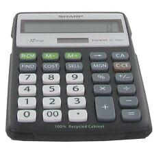 Calculadora de escritorio Sharp ELR287BB 12 digitos